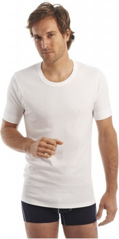 Tee-Shirt manches courtes col rond Blanc ArmorLux