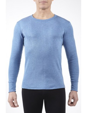 Rhovyl Long Sleeve Round Neck Jet T-shirt