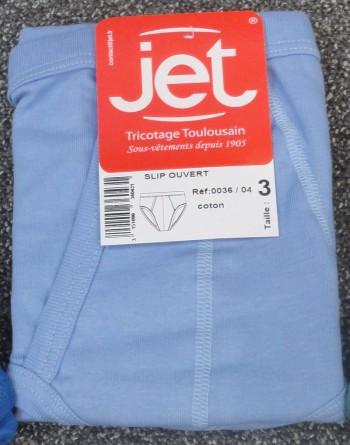 Lot de 3 slips taille haute ouverts Ciel Jet