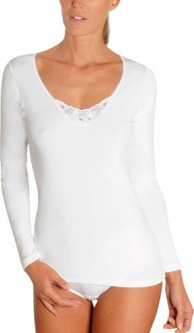 Chemise manche longue blanche 100% coton Achel