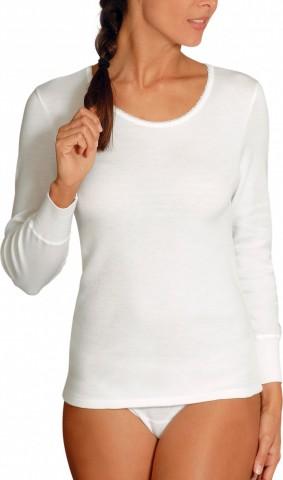 Chemise manches longues Blanche - Rhovylon
