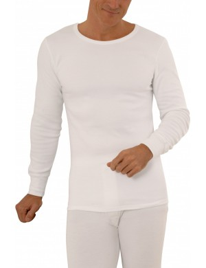 Achel long-sleeved cotton T-shirt*