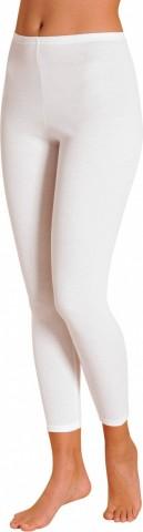 Legging femme en coton Achel Blanc