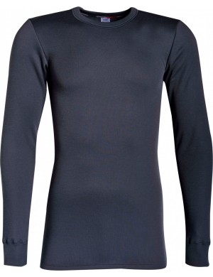 Achel long-sleeved fleece t-shirt
