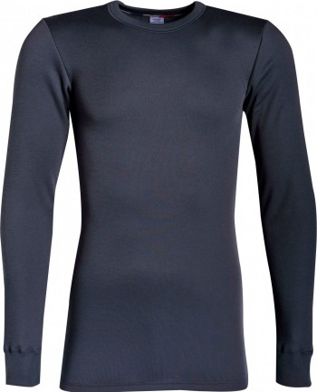 Tee-Shirt Homme manches longues polaire Achel gris