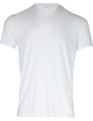 Set of 2 modal V-neck T-shirts
