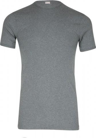 Lot de 2 Tee-shirts col rond coton Gris