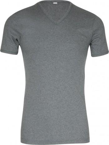 Lot de 2 Tee-shirts col V coton Gris