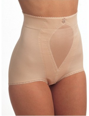 High waist panty triolet