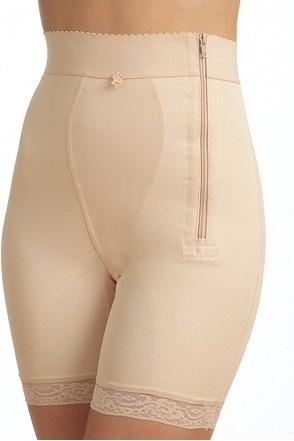Gaine culotte panty haute avec fermeture Beige Triolet