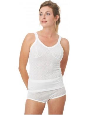 Armor thin bra straps shirt