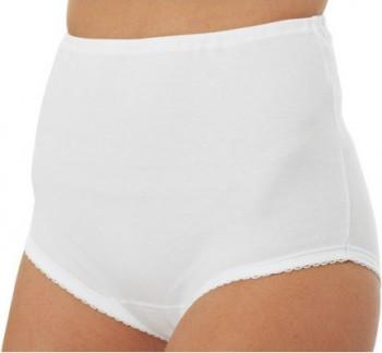 Culotte taille haute 100% coton Blanc ArmorLux
