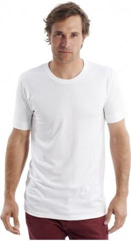 Tee-shirt manches courtes Blanc Rhovylon