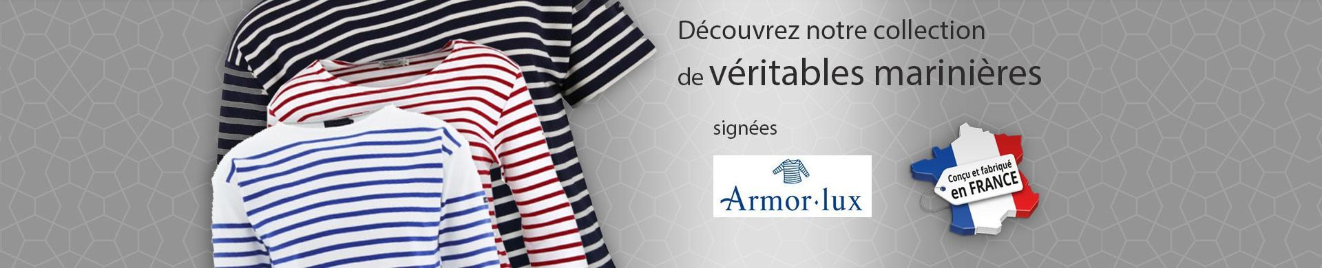 Découvrez notre collection de véritables marinières de fabrication française !