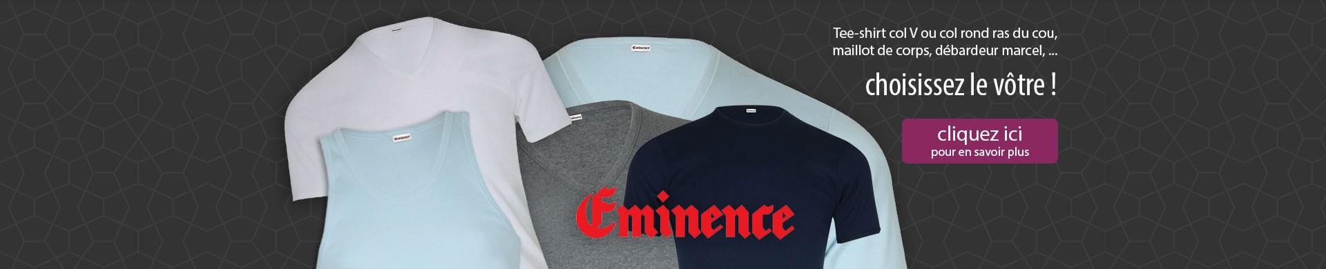 Choisissez votre Tee-shirt Eminence !